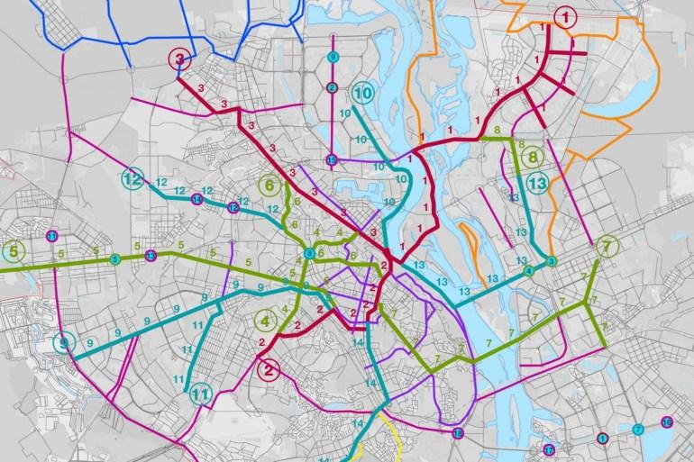 КГГА: В Киеве построят «веломагистраль» вдоль Набережного шоссе с освещением, видеонаблюдением, зонами отдыха, светофорами и т.д. за 184 млн грн