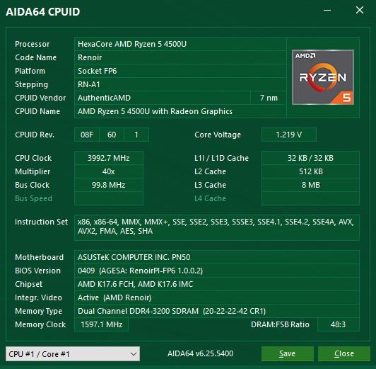 Обзор ASUS PN50: мини-ПК с процессором Ryzen 5 4500U