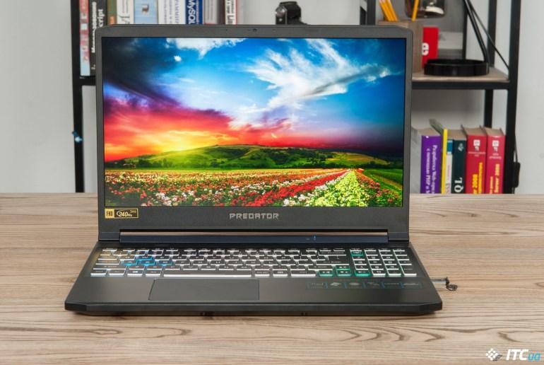 Обзор игрового ноутбука Acer Predator Triton 300