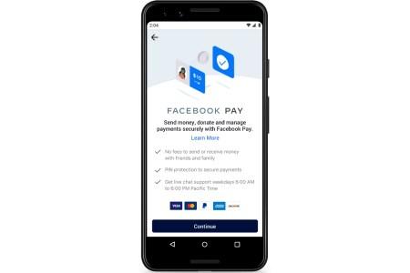 В Украине начала работать платежная система Facebook Pay