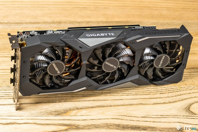 GIGABYTE GeForce RTX 2060 SUPER GAMING OC 3X 8G cooler