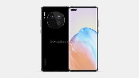 Флагманы Huawei Mate 40 и Mate 40 Pro во всей красе — заметно выступающая круглая камера и изогнутый экран с овальным отверстием