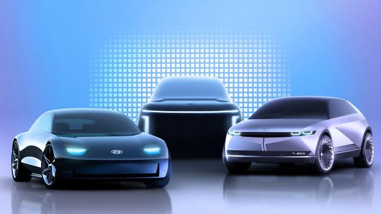 Hyundai представил отдельный электромобильный бренд IONIQ, в его рамках скоро выйдут три модели IONIQ 5/6/7 на основе концептов 45 и Prophecy