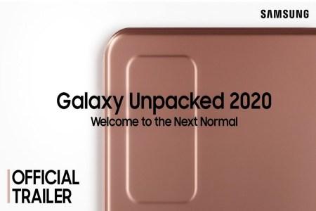 Galaxy UNPACKED 2020. Онлайн-трансляция презентации Samsung Galaxy Note20, Galaxy Z Fold 2, Galaxy Watch 3 и других новинок