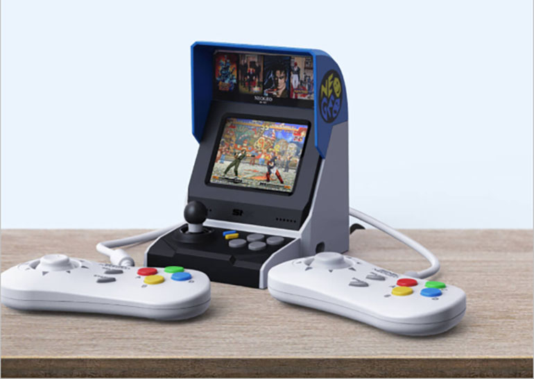 The international version of the compact game console NEOGEO Mini with 40 classic games is presented on the Xiaomi Youpin platform