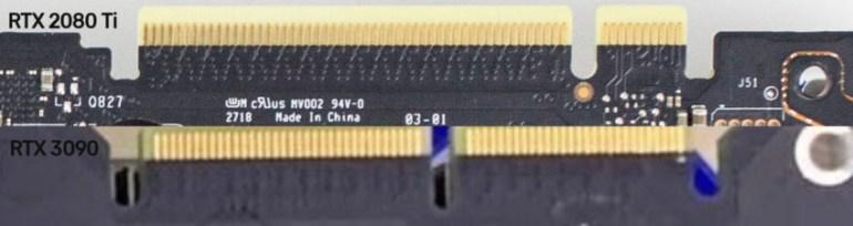 На живых фотографиях засветилась плата предполагаемой видеокарты NVIDIA GeForce RTX 3080/3090