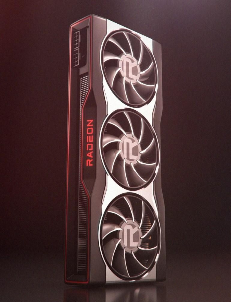 AMD показала дизайн новых видеокарт Radeon серии RX 6000, в том числе в Fortnite
