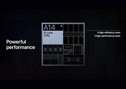 Подробнее о 5-нм SoC Apple A14 Bionic, содержащей 11,8 млрд транзисторов