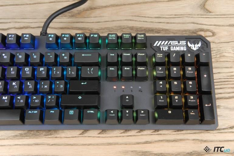 Обзор игровой клавиатуры ASUS TUF Gaming K3