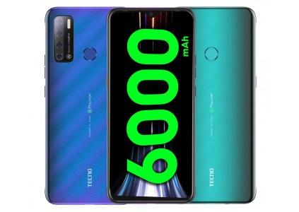 Смартфон Tecno Spark Power 2 Air: 7-дюймовый дисплей, стереодинамики, батарея на 6000 мАч и цена $115
