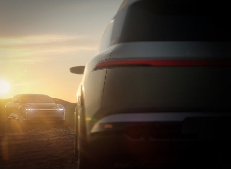 На платформе Lucid Air выпустят еще несколько электромобилей, первым будет 7-местный кроссовер Project Gravity в 2023 году