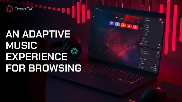 В браузер для геймеров Opera GX встроили адаптивную фоновую музыку, которая подстраивается под ритм браузинга