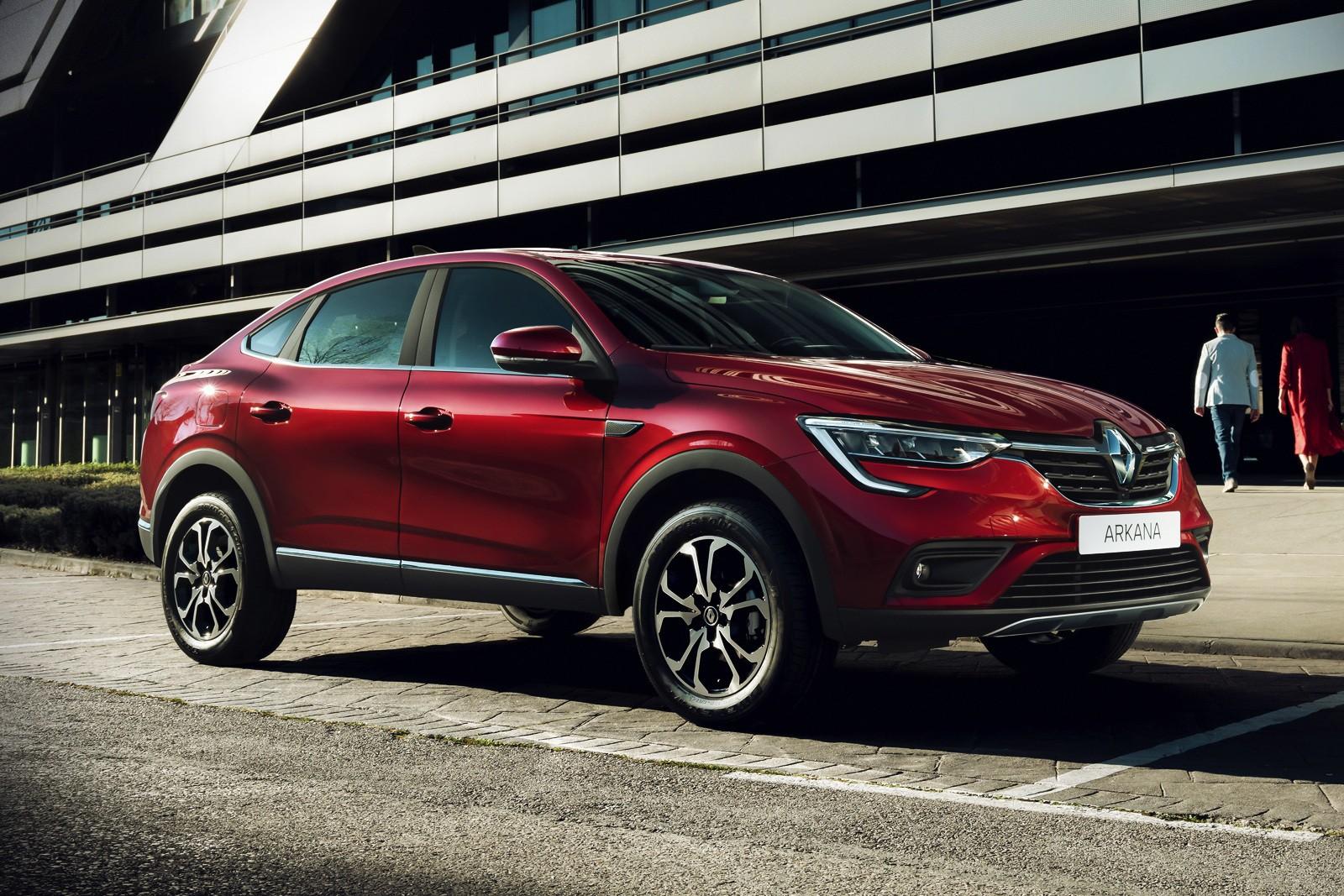 ЗАЗ будет собирать кроссовер Renault Arkana объявлены комплектации и стоимость модели для украинского рынка — от 497 тыс. грн