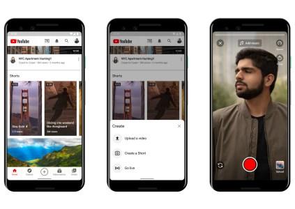 Google запускает конкурента Tik-Tok – YouTube Shorts
