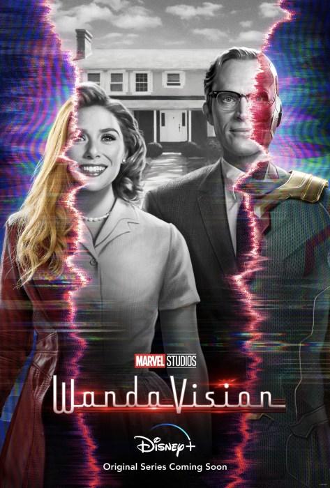 Первый трейлер фантастического сериала WandaVision / «ВандаВижен» о супергероях Алой Ведьме и Вижене из «Мстителей»
