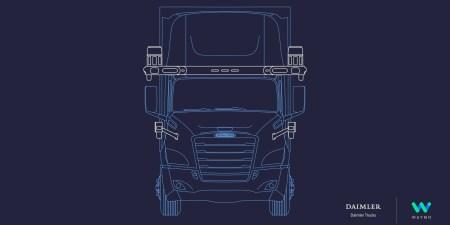В грузовиках Daimler появятся технологии автономного управления Waymo