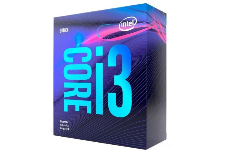 Core i3-9100F box