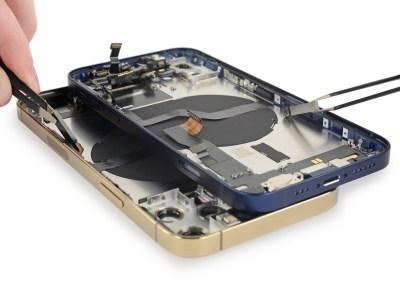 iFixit разобрали iPhone 12 и 12 Pro, некоторые компоненты оказались полностью взаимозаменяемыми