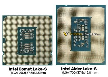 Фото дня: инженерный образец 10-нм CPU Intel Alder Lake-S с разъемом LGA 1700