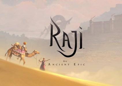 Raji: An Ancient Epic – девушка в красном сари