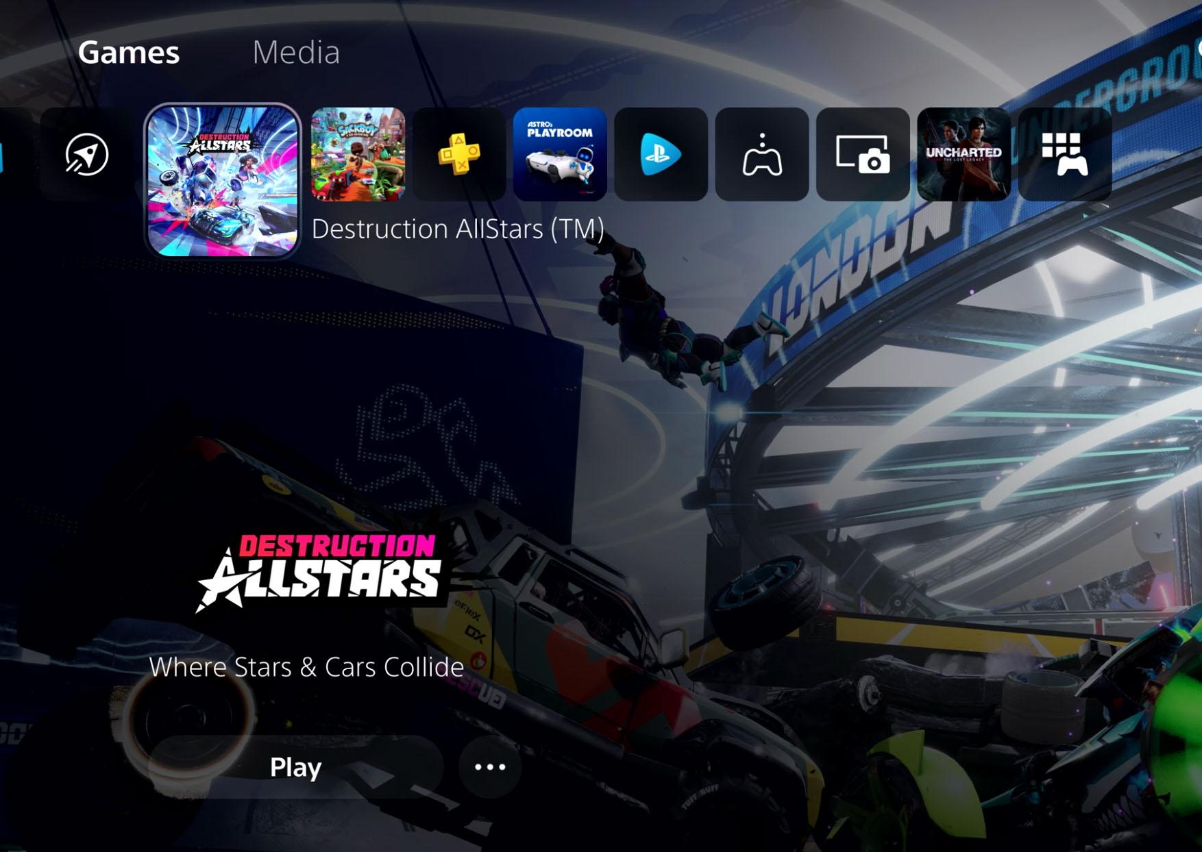 Как будет выглядеть пользовательский интерфейс в PS  5