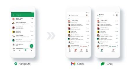Google анонсировала замену Hangouts на Chat — пользователей начнут переводить в 2021 году