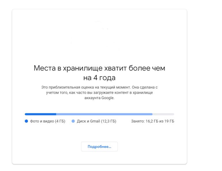 Google Photos перестанет быть безлимитным с 1 июня 2021 года, а файлы неактивных аккаунтов (минимум два года) будут удаляться
