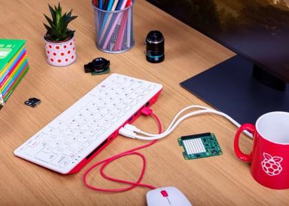 Анонсирован компьютер Raspberry Pi 400 в форм-факторе компактного клавиатурного моноблока
