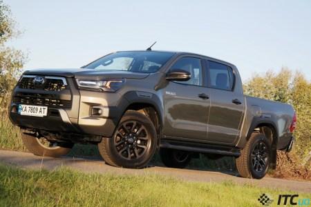 Тест-драйв Toyota Hilux: лидер класса? Не спешите с выводами…