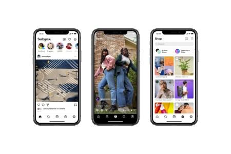 Instagram обновляет дизайн главного экрана и добавляет на него вкладки Reels и Shop