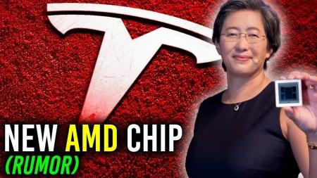 Слух: Tesla рассматривает возможность использования GPU AMD Navi 23 в своих автомобилях