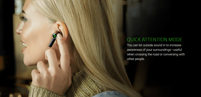 Razer launches Hammerhead True Wireless Pro TWS Active Noise Canceling Headphones, THX Support and Game Mode (up to 60 ms latency) for $ 200
