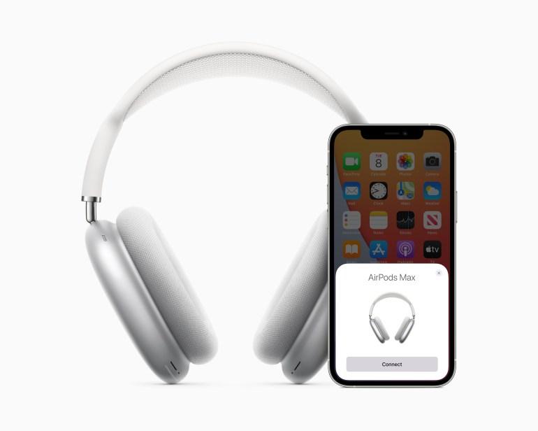 Apple представила AirPods Max — охватывающие наушники с системой активного шумоподавления за $549