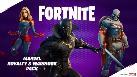 Fortnite представил набор «Marvel: короли и воины» с Черной Пантерой, Капитаном Марвел и Таскмастером за 619 грн (а также бесплатное «Вакандийское приветствие»)