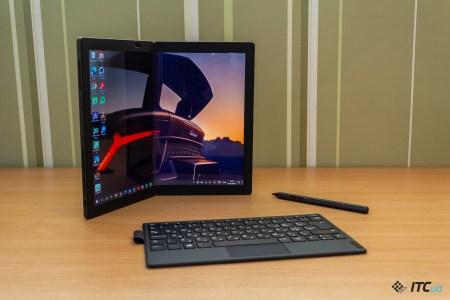 Lenovo ThinkPad X1 Fold: первый ноутбук со сгибаемым экраном