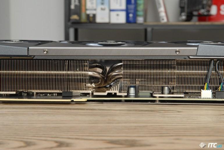MSI GeForce RTX 3080 SUPRIM X 10G memory cooling