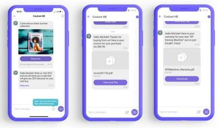 Viber запустил функцию отправки файлов File Sharing, которая позволит компаниям отправлять чеки, выписки, гарантию и т.д. своим клиентам