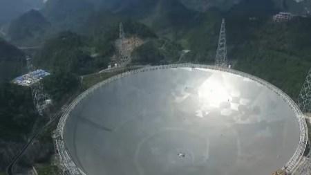 Огромный китайский телескоп FAST откроет свои двери для международных учёных в апреле