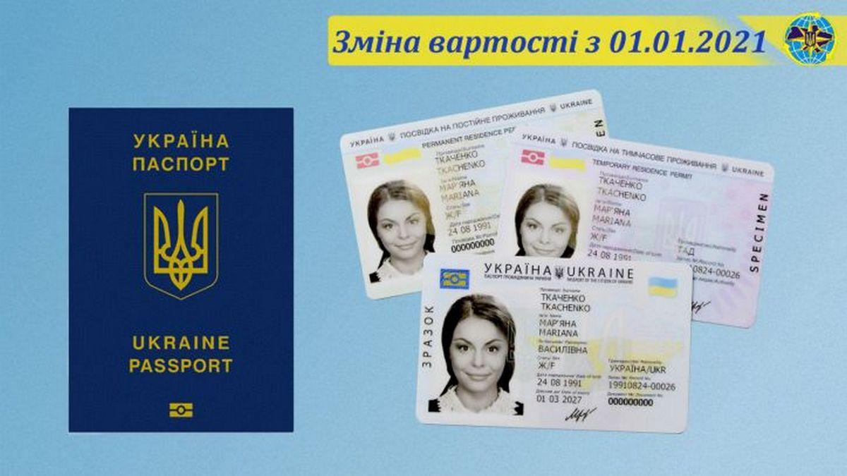 Державна міграційна служба збільшила вартість оформлення біометричних документів (ID-картка, закордонний паспорт)