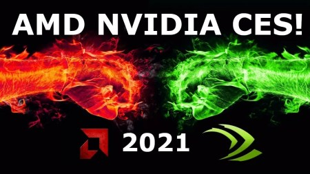 Трансляция презентаций AMD и NVIDIA на CES 2021 — ждем мобильные процессоры Ryzen 5000 и мобильные видеокарты GeForce RTX 3000