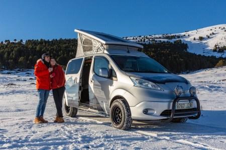 Nissan e-NV200 Winter Camper — концепт электрического минивэна для экстремальных зимних путешествий [видео]