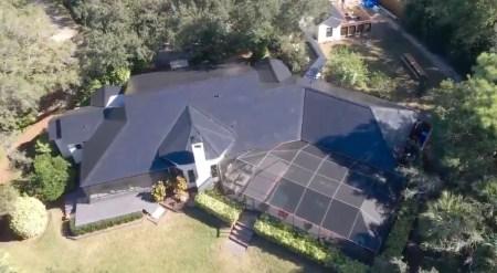Tesla разместила крупнейшую установку Solar Roof мощностью 44 кВт