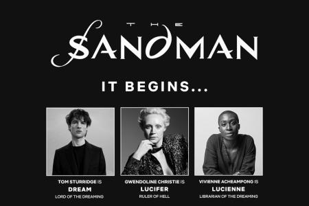 Главные роли в сериале Netflix по комиксу Нила Геймана «Песочный человек» (The Sandman) сыграют Том Старридж, Гвендолин Кристи, Родерик Берджесс и др.