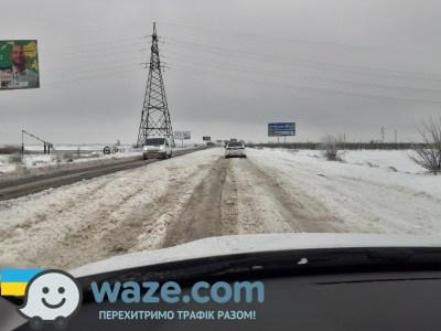 «Укравтодор» почав приймати звернення про неочищені від снігу ділянки доріг за допомогою додатку Waze