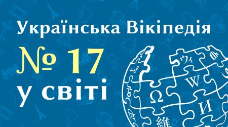 Українська Вікіпедія розповіла про успіхи за результатами 2020-го — 855,1 млн переглядів сторінок та 17 місце у світі за відвідуваністю