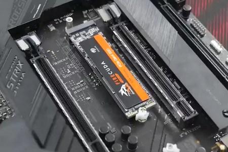 Легким движением руки: ASUS предложит новый механизм крепления M.2 SSD