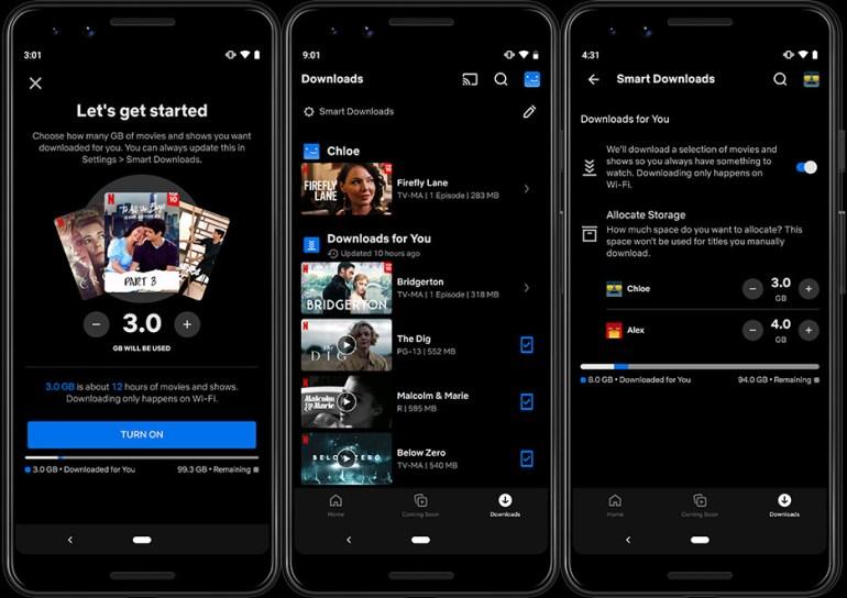 Netflix на Android будет автоматически загружать контент в зависимости предпочтений пользователя