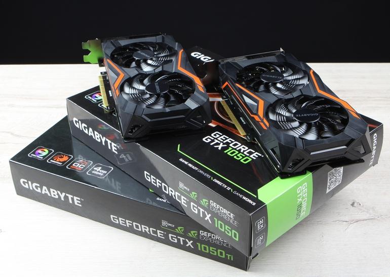 GeForce GTX 1050 и GeForce GTX 1050 Ti от Gigabyte