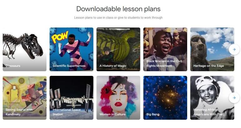 Google запустив спецпроект «Навчайтеся разом з Google Arts & Culture» для вчителів, учнів та батьків, який об'єднує знання з культурних установ всього світу