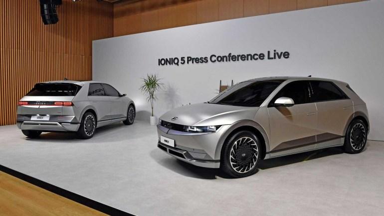 Стоимость электромобиля Hyundai Ioniq 5 в Великобритании будет доходить до $68 тыс. (первые живые фотографии новинки)